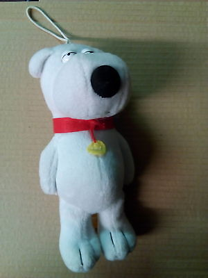 """family guy brian soft toy  approx 7.5"""""""
