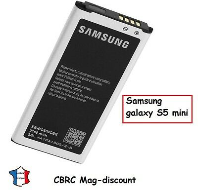 NEW BATTERY for SAMSUNG GALAXY S5 compact mini SM-G800