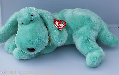 TY Beanie Buddy Diddley The Dog NEW WITH TAG