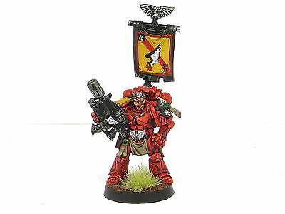 CAPTAIN TYCHO  - Painted 40K Blood Angels Space Marine Army