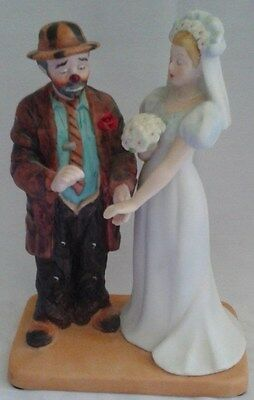Emmet Kelly and the Bride - Rare from the Original Circus Collection