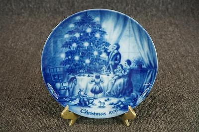 Porcelain Collector Plate Kaiser W. Germany C. 1979 Christmas Eve