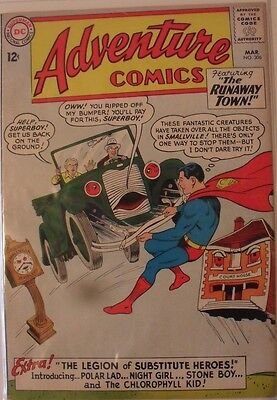 Adventure Comics #306 (1963) First Legion of Substitute Heroes!
