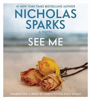 New Audio Book SEE ME by Nicholas Sparks Abridged on 8 CDs No. 1
