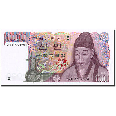 [#211739] South Korea, 1000 Won, Undated (1983), KM:47, UNC(65-70)