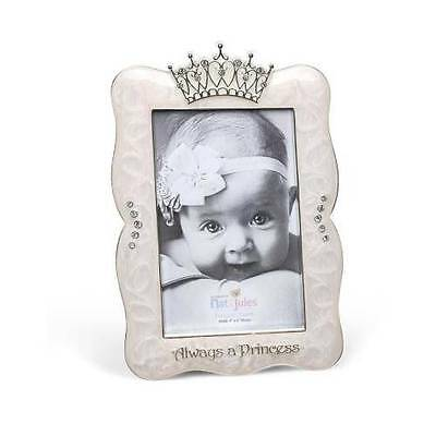 Nat & Jules Demdaco Pink Always a Princess Picture Frame for 4x6 Photo