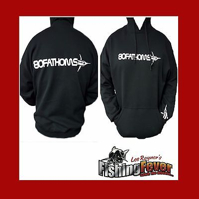 80 Fathoms Hoodie Black Brand New At Fishing Fever