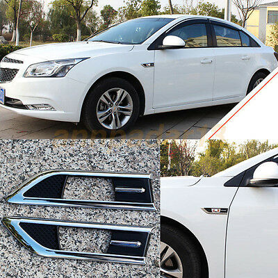 Turn Signal Side Lamp Trim Decorate For Chevrolet Cruze 2014-2016  Fender