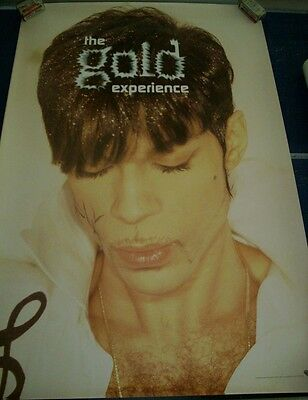 Prince The Gold Experience Poster 1995 Original Vintage 1990's Poster