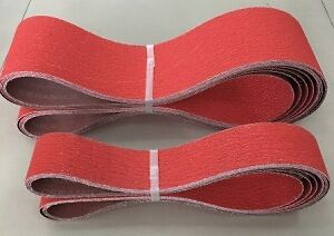 6 x 50x914MM CERAMIC SANDING BELTS FOR STAINLESS STEEL AND METAL