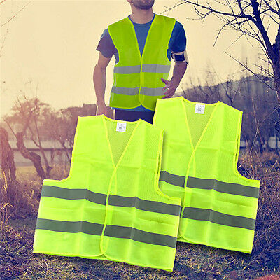 1pc Car Warning High Visibility Vest For Your Safety