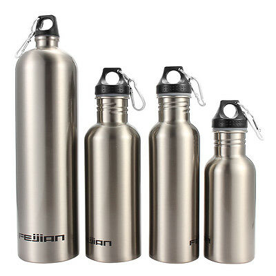 Outdoor Stainless Steel Travel Water Bottle Sports Water Bottle Cycling Climbing