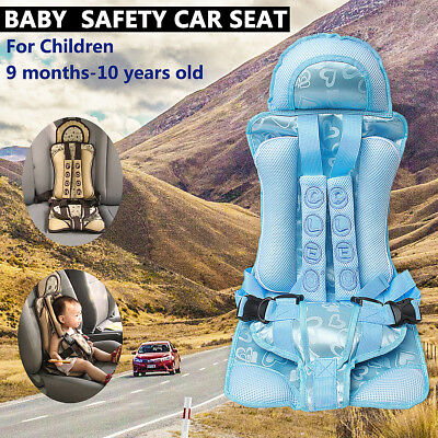 Blue Baby Car Seat Infant Toddler Safety Booster Chair Kids Safety Travel USA