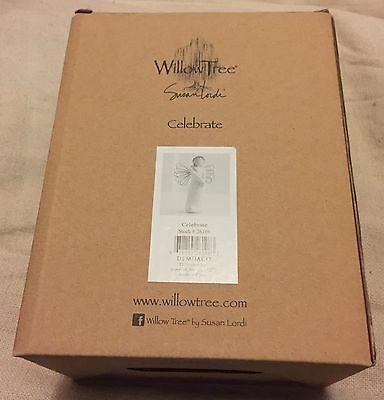 WILLOW TREE Hand Crafted Figurine BNIB Titled 'Celebrate'