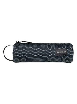 "QUIKSILVER ""PENCILO"" BOYS PENCIL CASE. BLACK HEAT WAVE (kvj9)"