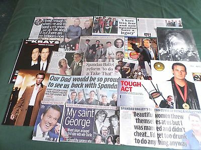 Spandau Ballet - Pop Music Clippings /cutting Pack