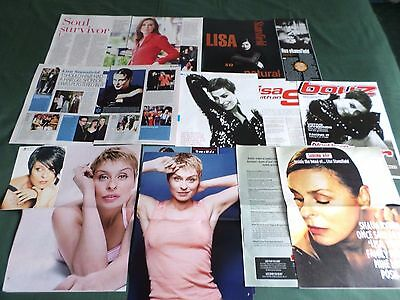 Lisa Stansfield - Pop Music Clippings /cutting Pack