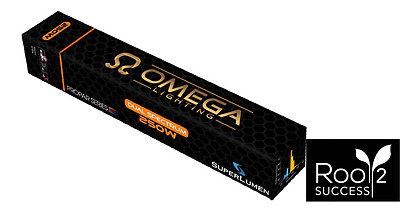 "250W Omega Dual Spectrum ""Grow & Flower Bulb"" E40 - Hydroponics Grow Light Lamp"