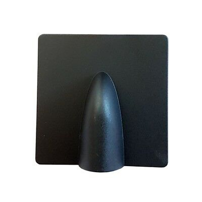 Black Brick Buster Plate-Cable Wall Entry Tidy Cover-Satellite/Coaxial RM24 Post