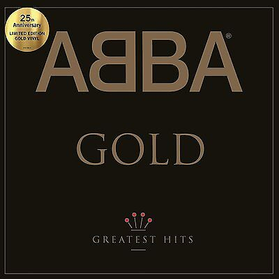 Abba - Gold - Greatest Hits - Limited Edition 2 x Gold Colour Vinyl LP *NEW*