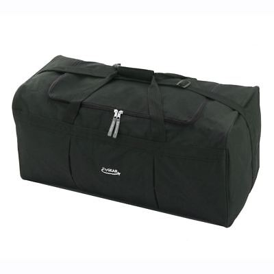 "Large 27"" Travel Weekend Cargo Luggage Holdall Duffle Business Carry Bag Black"