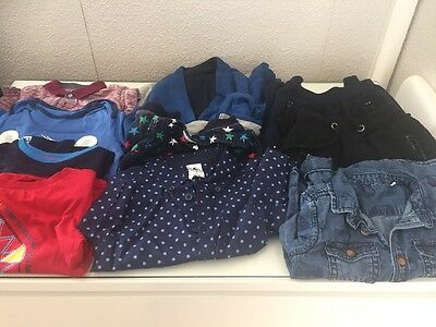 Baby Boy Bundle 12-18 Matalan/tu/bluezoo/etc tops/trousers/