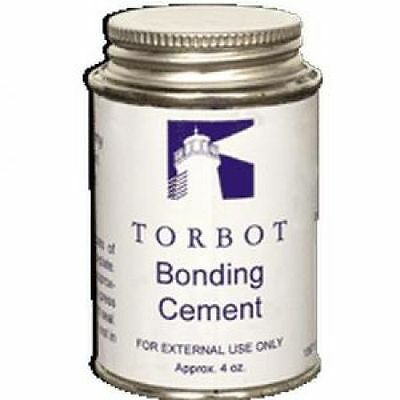 NEW! Torbot Liquid Skin Bonding Adhesive Cement w/ Cap, 4 oz. Can -10 PACK