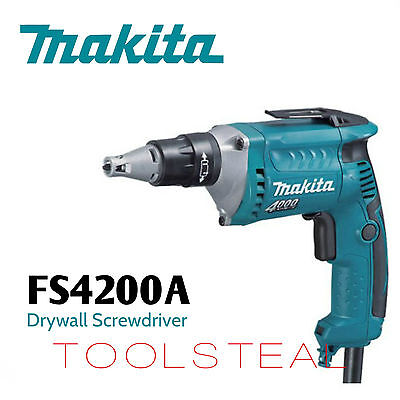 Makita FS4200A 4000 RPM Drywall Screwdriver with 50 ft. Cord NEW w/ Warranty!!