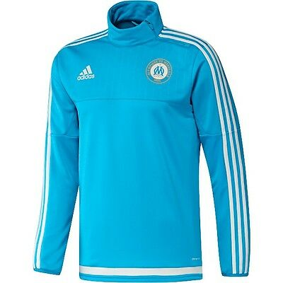 Adidas Olympique Marseille Training Sweater 1516, Sky Navy/Blue Gr. XL