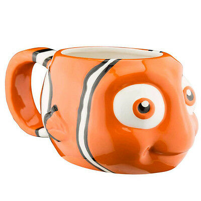 Finding Dory Moulded Mug Nemo Cup Orange Gift Fun Fan Official Licensed Product