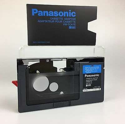 PANASONIC Cassette Adaptor Adapter VW-TCA7E Camcorder VHS-C/S-VHS-C to VHS
