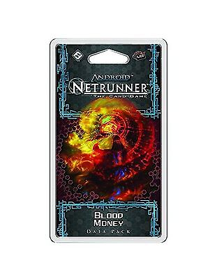 Android Netrunner Trading Card Game Blood Money Data Pack