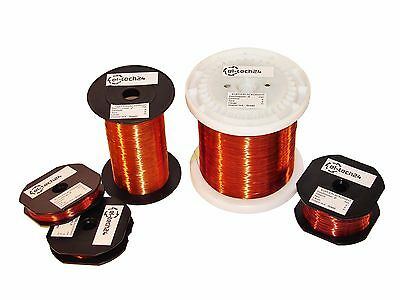 WINDING WIRE Copper Enamelled | 400g Spool | 0.10mm - 3.00mm