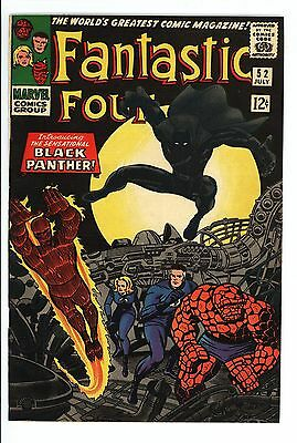 Fantastic Four #52 Vol 1 Super High Grade 1st Appearance of the Black Panther