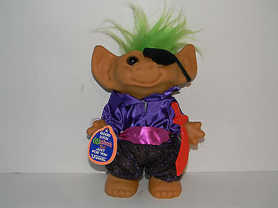 Vintage Uneeda Wishnik Pirate Troll Doll 8""