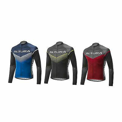 Altura Sportive Chevron Long Sleeve Bike / Cycling / Cycle Jersey Top