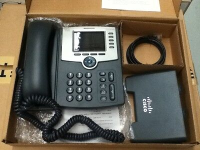 Cisco IP Phone SPA525G2 WITH POWER ADAPTER - USED