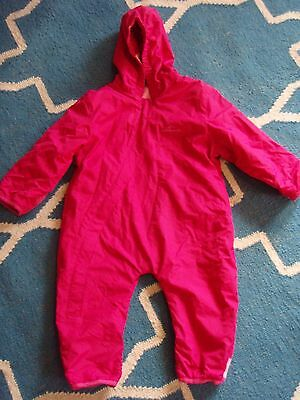 Kathmandu Bambino Snow Wet Weather Girl Coverall Jumpsuit 18 Months or sz 1 - 2
