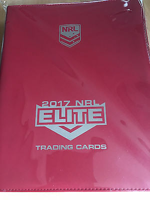 2017 NRL Elite ALBUM & FULL SET of 160 Common Cards