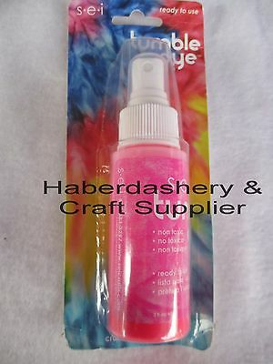 S*e*i Fabric & Craft Dye *permanent *water Based Neon Pink