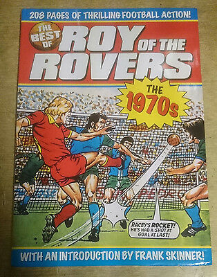 The Best of Roy of the Rovers Book the 1970s Football Comic