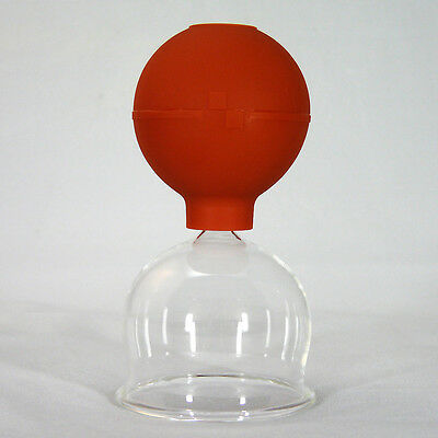 cupping glass with Dispensing Bulb Fireless Medical Cupping NEW