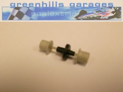 Greenhills Micro Scalextric Rear Axle & Wheels Grey Used – P2878