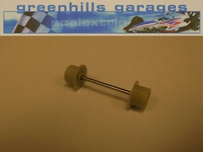 Greenhills Micro Scalextric Front Axle & Wheels Grey Used – P2880