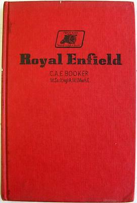 ROYAL ENFIELD 1937 to 1960 Original Motorcycle Owners Handbook 1960 Pearson