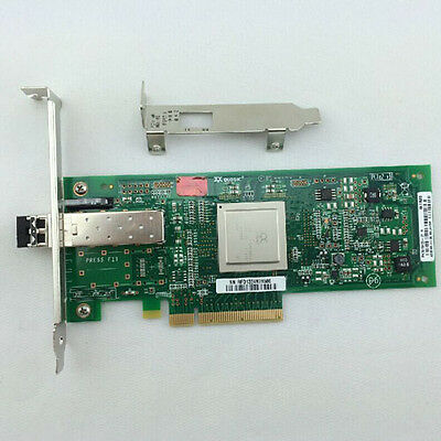 Qlogic QLE2560 Single Port 8Gb Fibre Channel PCI-E HBA Card 489190-001