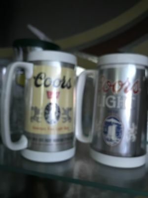 2 ThermoServ Coors Drinkware, Coors and Coor Light