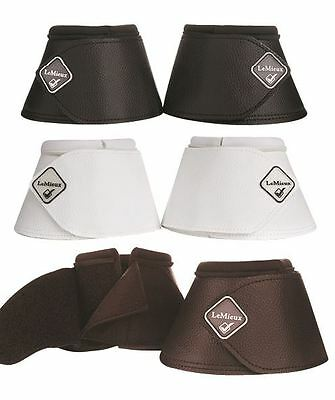 LeMieux Leather Wrap Round Over Reach Boots Competition/Schooling Equine 11334P
