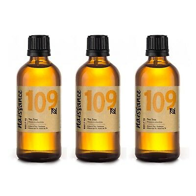 Naissance Wholesale Tea Tree Essential Oil 300ml (3 x 100ml)