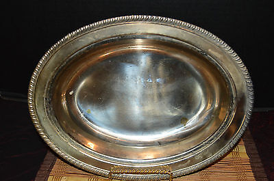 "Vintage A Ray E. Dodge Product SilverPlated Serving Dish 11 1/2""x8 3/4"""